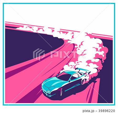Burnout car, Japanese drift sport, Street racing 39896220