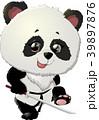 ぱんだ パンダ ベクターのイラスト 39897876