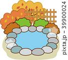 秋 紅葉 温泉のイラスト 39900024