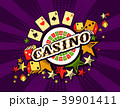 カジノ カジノの ルーレットのイラスト 39901411