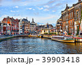 Picturesque views of the city center of Amsterdam 39903418