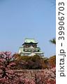 大阪城と梅林 39906703
