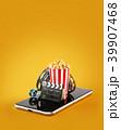 スマートフォン ムービー 映画のイラスト 39907468