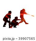 野球 選手 バッターのイラスト 39907565