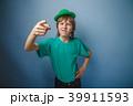 European-looking boy of ten years discontent is 39911593