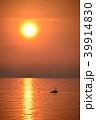 日本海 海 漁船の写真 39914830