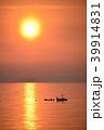 日本海 海 漁船の写真 39914831