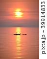 日本海 海 漁船の写真 39914833