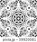 パターン 柄 模様のイラスト 39920081