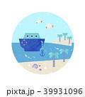 船 デザイン 柄のイラスト 39931096