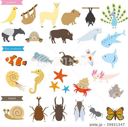 ユニークな動物 39931347