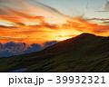 夕暮れの飯豊連峰・飯豊本山 39932321