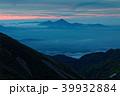 飯豊本山から見る未明の磐梯山 39932884