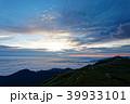 飯豊本山から見る夜明けの空 39933101