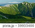 飯豊本山から見る朝の北股岳方面 39933400