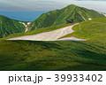 朝の飯豊連峰・大日岳 39933402