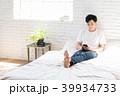 スマートフォン 男性 若いの写真 39934733
