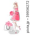 女性 ファッション おしゃれのイラスト 39936272