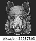 イノシシ 猪 イラストのイラスト 39937303