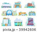 ショッピングセンター モール ベクタのイラスト 39942606