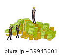 お金 通貨 金のイラスト 39943001