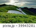 飯豊連峰 御西岳 自然の写真 39943281