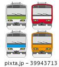 正面からの電車 39943713