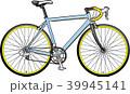 自転車 ロードレーサー ロードバイクのイラスト 39945141
