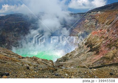 熊本県阿蘇市 阿蘇山 中岳火口 39945508
