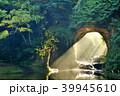 千葉県 濃溝の滝 朝の光芒 39945610