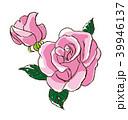 バラ 薔薇 花のイラスト 39946137