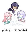 女の子 少女 ベクトルのイラスト 39946444