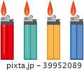ライター 100円ライター ベクターのイラスト 39952089