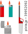 ライター 100円ライター ベクターのイラスト 39952092