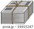 資源ゴミ 新聞紙 39955287