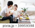 夫婦 食事 若いの写真 39959398