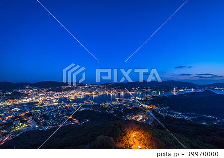 《長崎県》稲佐山の夜景・日本三大夜景 39970000