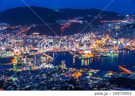 《長崎県》稲佐山の夜景・日本三大夜景 39970003