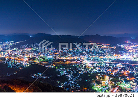 《長崎県》稲佐山の夜景・日本三大夜景 39970021