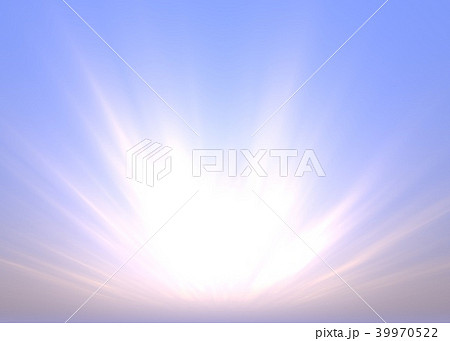 Morning Background with Sunbeams 39970522