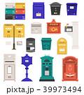 メールボックス レター 文字のイラスト 39973494