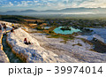 Picturesque view of Pamukkale 39974014
