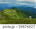 山 山並み 尾根の写真 39974027