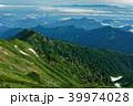 山 山並み 尾根の写真 39974028