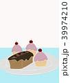パウンドケーキとモンブラン 39974210