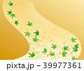 背景 流水模様 金地のイラスト 39977361