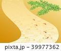背景 金地 和風のイラスト 39977362