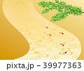 背景 金地 和風のイラスト 39977363