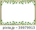 葉っぱのフレーム・壁背景 39979913