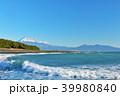 富士山 海 波の写真 39980840